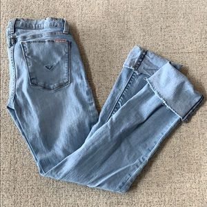 Hudson Jeans - 25 Croppes with cute cuff